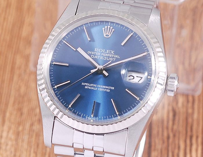 Rolex - Oyster Perpetual DateJust - 16014 - Uomo - 1980-1989