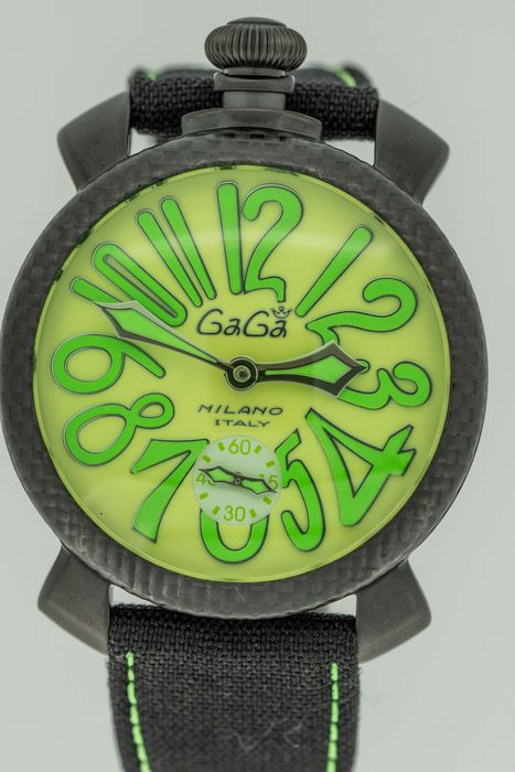 GaGà Milano - Carbon Manuale 48MM Limited Edition - 5016.11S - 中性 - 2011至今