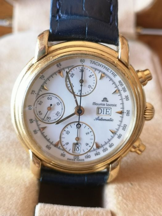 Maurice Lacroix - Masterpiece Croneo Automatic Day Date - Ref. 39353 - Heren - 1990-1999