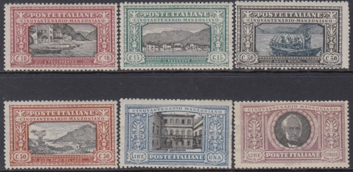 Lot 48355273 - Italian Stamps  -  Catawiki B.V. Weekly auction - Note the closing date of each lot