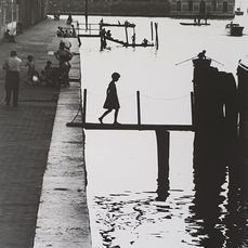 Willy Ronis (1910-2009) - Fondamenta Nuove, Venise, 1959