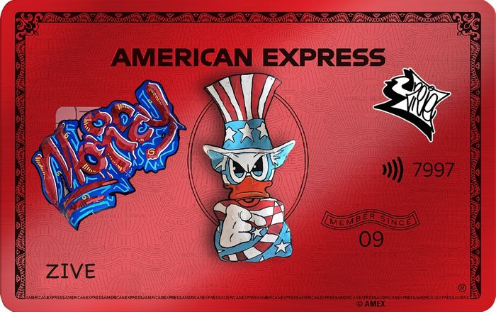 Zive - American Zive Card Red