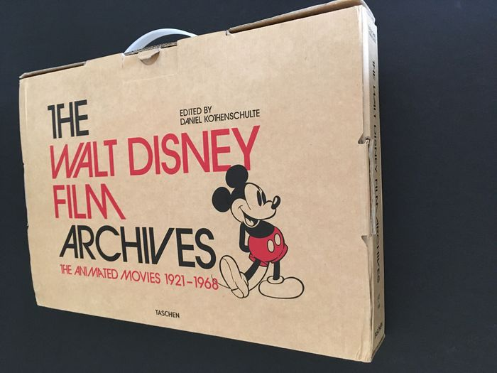 Taschen / Disney - The Walt Disney Film Archives - The Animated Movies [1921-1968] - Hardcover - (2016)