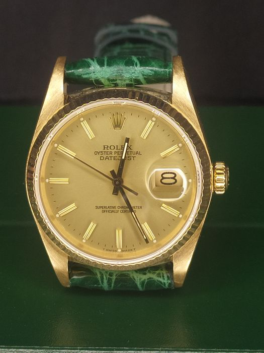 Rolex - Oyster Perpetual Date Just - Ref 16018 - Unisex - 1980-1989
