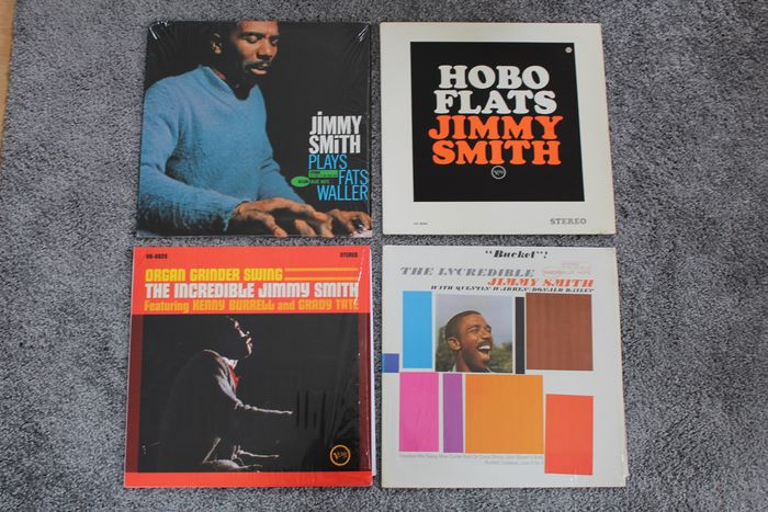 Jimmy Smith - Blue Note and Verve Records - Diverse titels - LP's - 1963/2010