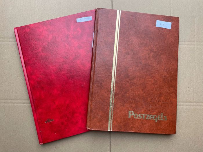 India 1865/2004 - In two stock books