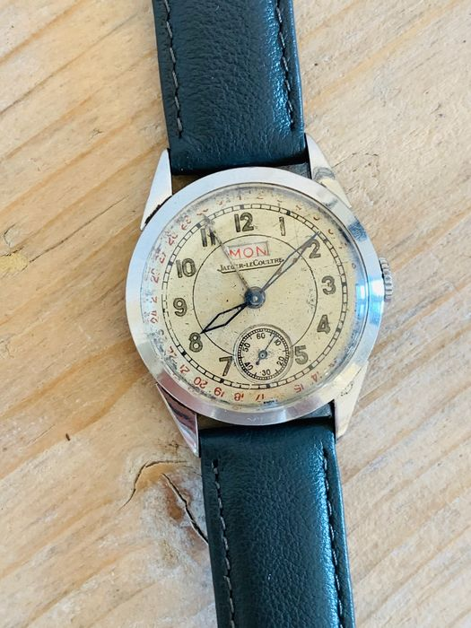 Jaeger-LeCoultre - day date / cal. 412 - 34944 - Heren - 1901-1949