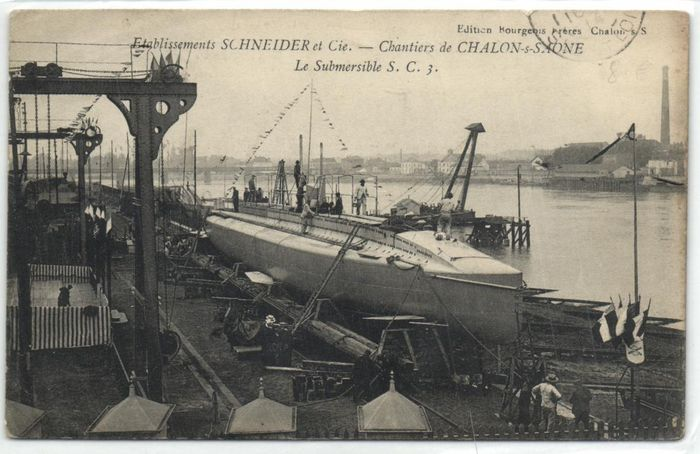 France - Navy ships - Usually around WW1 - including Cruisers, Torpileurs, Werfen - Postcards (Collection of 60) - 1910-1960