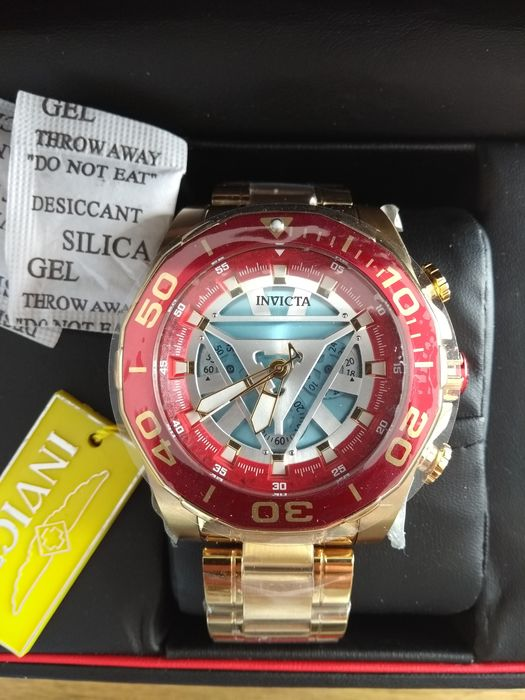 Marvel: Iron Man - Invicta - Watch - automatic winding model - limited edition - with original box