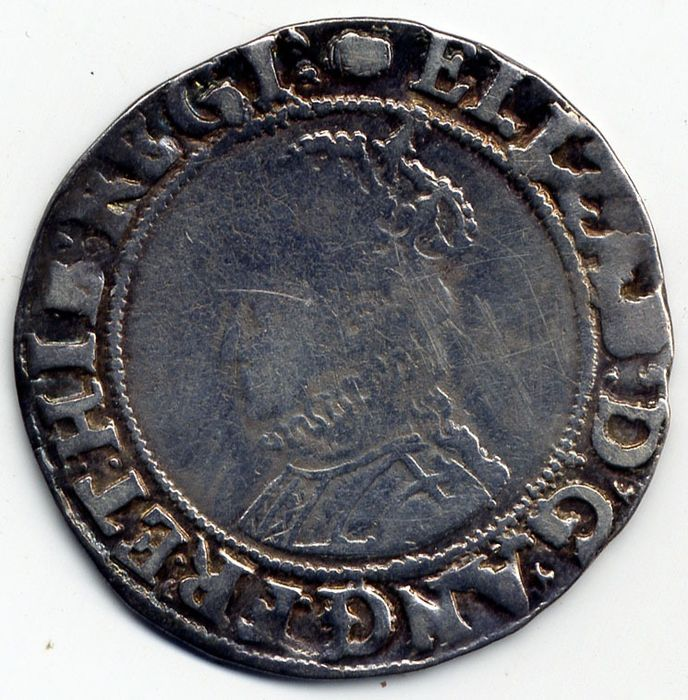 Great Britain. Elizabeth I (1558-1603). Shilling no date and no rose