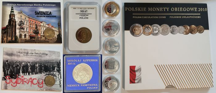 Poland. Lot of Various Coins