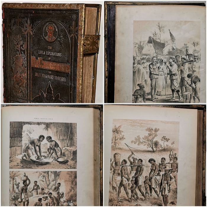 David Livingstone - The Life and Explorations of David Livingstone, LL.D., The Great Missionary Traveller - 1875