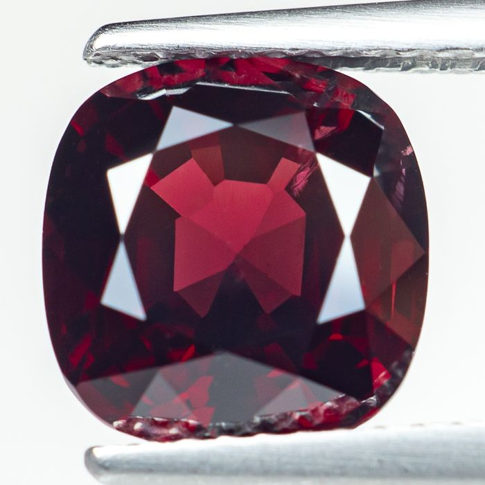 No Reserve - Burma - Intense Red Spinel - 3.34 ct