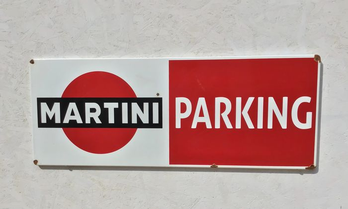 Martini - Advertising sign - Iron (cast/wrought)