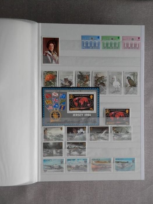 Jersey 1983/1992 - Batch of stamps and FDCs JERSEY