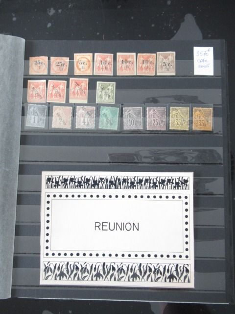 Franse kolonie - An important collection of stamps Volume 9
