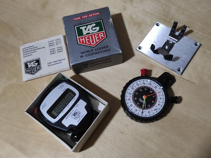 Heuer - Rally / Race Timing System - 512.902 + 1020 - Unisex - 1980-1989