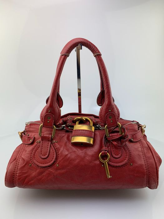 Chloé - Red Leather - Handtas