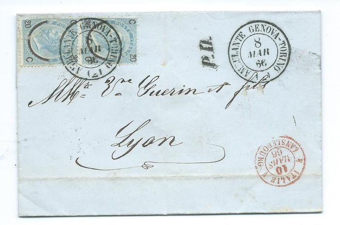 Italia - 62 covers / postal stationery/letters mainly older material