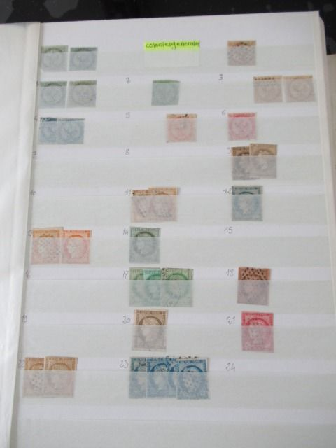 Colonia francese - Significant collection of stamps - Volume 3.