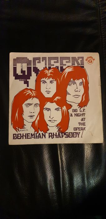 Queen - Bohemian Rhapsody/ I'm In Love With My Car [Portugese Pressing] - 45 rpm Single - 1975/1975