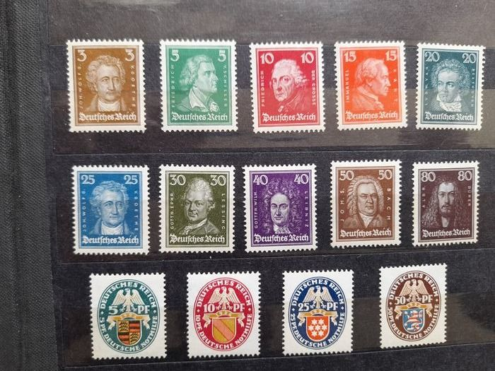 Germania - aree postali locali 1926/1940 - MNH compilation German Empire/German Reich & occupation of Luxembourg