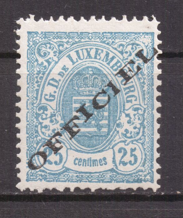Luxembourg - Service stamps - 25 c.