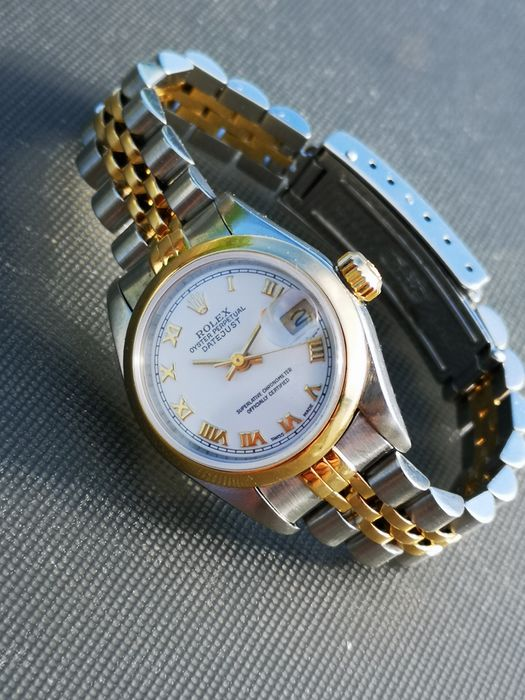 Rolex - Oyster Perpetual Date Just - 79163 - Donna - 2000-2010