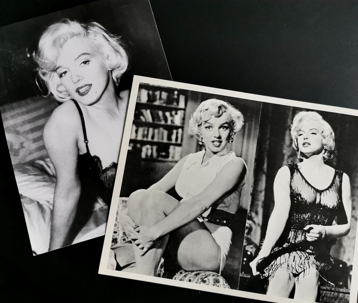 The Seven Year Itch & Some like it Hot - Marilyn Monroe - Foto Lot of 2 - see images and description