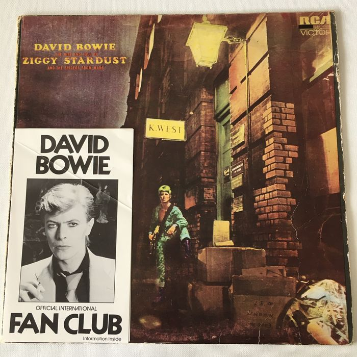 David Bowie, Neil Young, Rory Gallagher, Talking Heads, Various Artists/Bands in Classic Rock (before 1990), Wings - Multiple artists - Multiple titles - LP's - 1975/1985