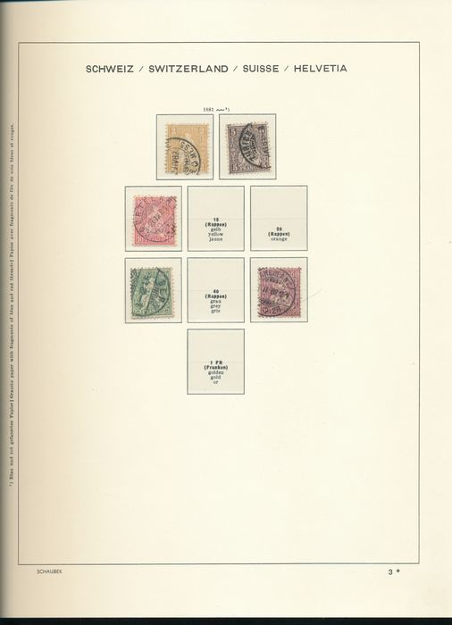 Lot 49265597 - Austrian & Swiss Stamps  -  Catawiki B.V. Weekly auction - Note the closing date of each lot