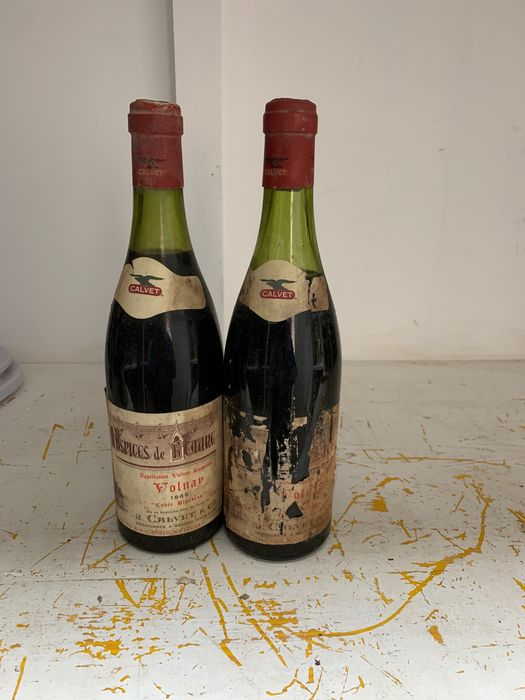 """1966 Volnay """"Cuvée Blondeau"""" - Hospices de Beaune - Volnay - 2 Normalflasche (0,75 Liter)"""