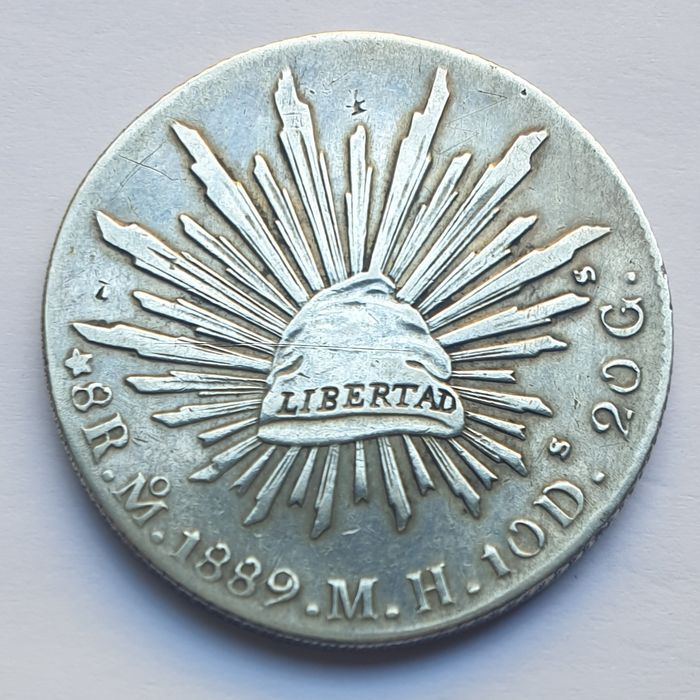 Mexico. 8 Reales 1889 - Mº - MH