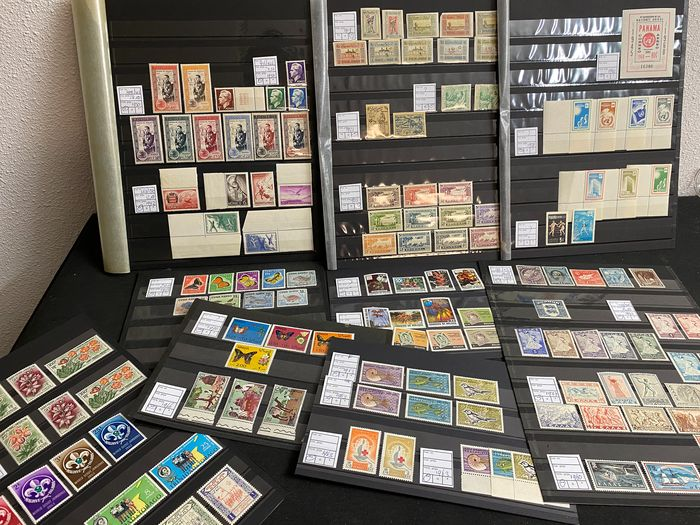Mondo 1919 - Beautiful sets and stamps worldwide Cyprus, Senegal, Cuba and more
