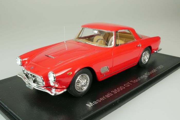 Neo Scale Models - 1:43 - Maserati 3500 GT touring coupé - 1957 - rouge