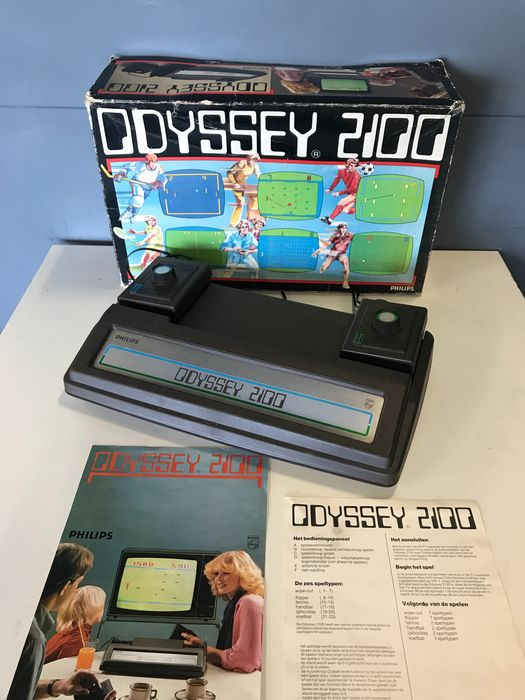 Philips - 1977 Philips Odyssey 2100 in working condition with original box and manual