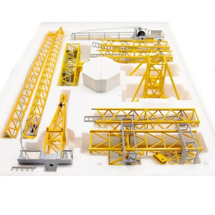 MD Matic H0 - MD250 - Scenery - Unique metal construction crane in 1:87