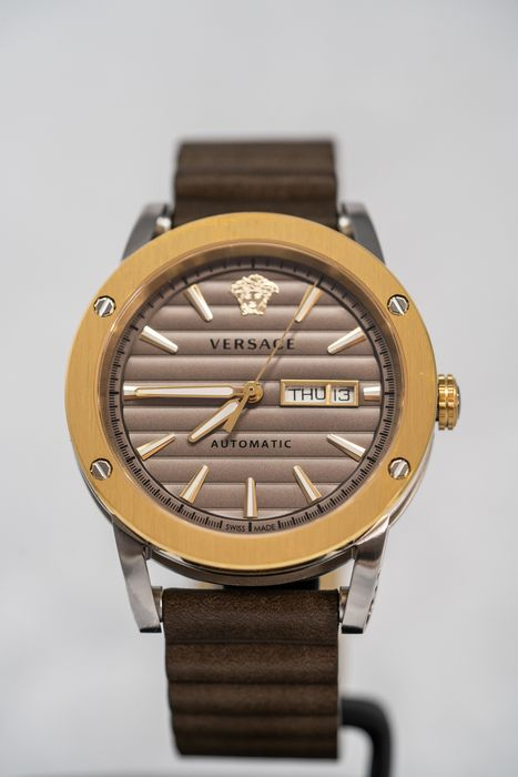 Versace - Theros Day Date Brown - VEDX00219 - Uomo - 2011-presente
