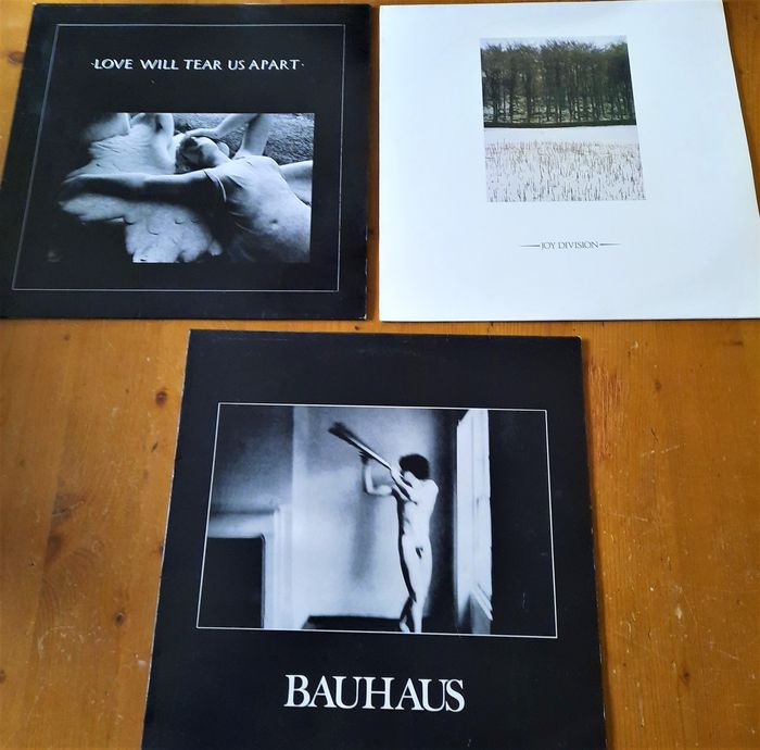 """Joy Division & Related - Lot: Three Factory/Manchester related Bands - Diverse titels - Maxi Single 12"""" inch - 1980/1984"""