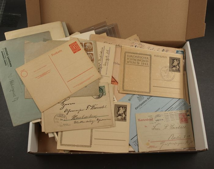 Germania - Proof of authenticity Items from collector's estate mostly German Empire