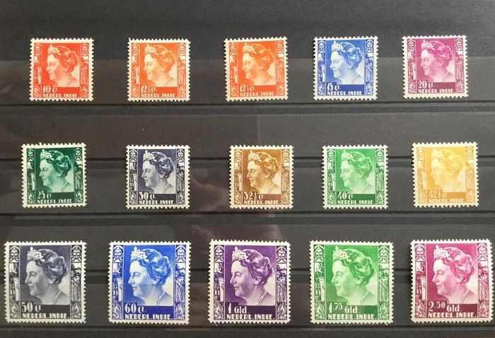 Indie Orientali Olandesi 1913/1935 - Small collection
