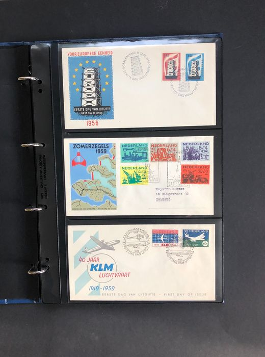Paesi Bassi 1957/2000 - Collection of FDCs and special covers