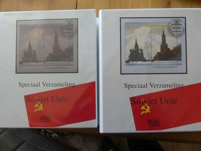 Unione Sovietica 1986/1991 - Collection in two special albums