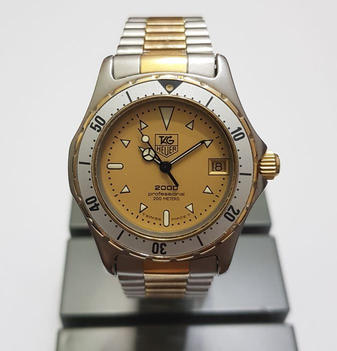 """TAG Heuer - 2000 Series Professional 200m """"NO RESERVED PRICE"""" - Ref. 974.013 - Uomo - 1990-1999"""