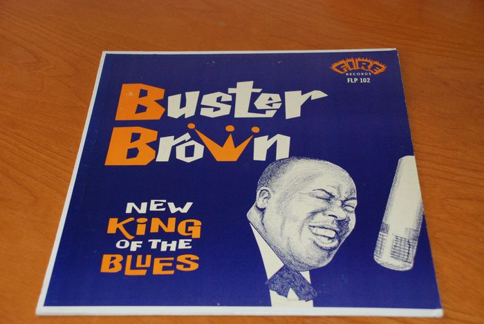 Buster Brown - New King Of The Blues - LP Album - 1961