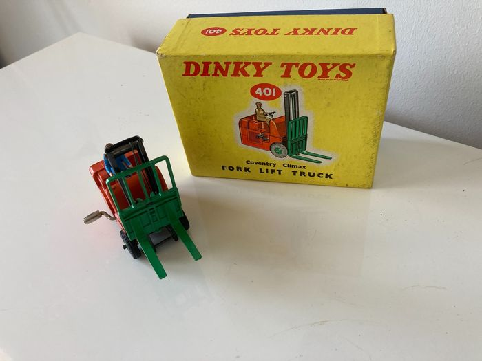 Dinky Toys - 1:43 - 401 Coventry Climax vorkheftruck