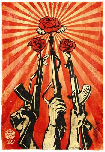 Signed; Shepard Fairey / Obey - Supply & Demand - 2006