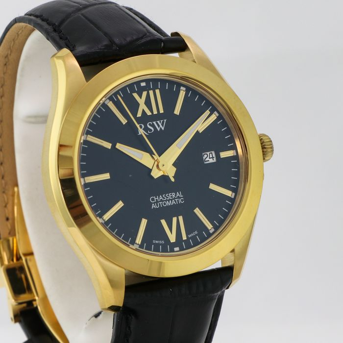 """RSW - Chasseral Automatic - 7240.YP.L1.1.00 """"NO RESERVE PRICE"""" - Heren - 2011-heden"""