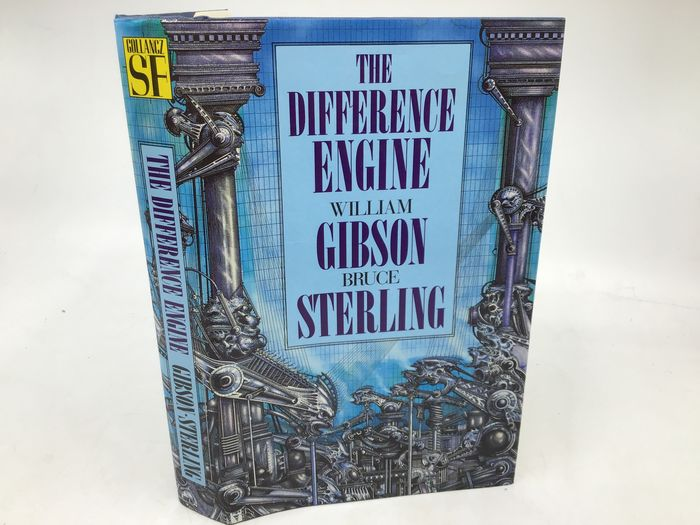 William Gibson / Bruce Sterling - The Difference Engine (signed by both authors) - 1990