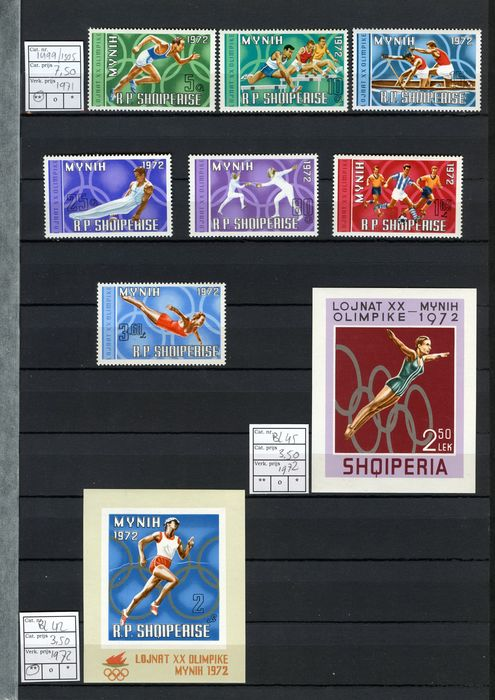 Lot 49116261 - International Stamps  -  Catawiki B.V. Weekly auction - Note the closing date of each lot